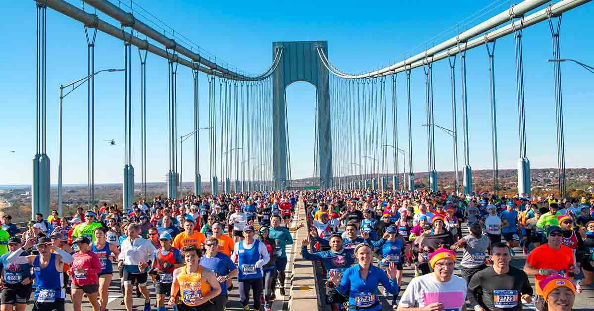 Maratona de Nova York acontecerá em novembro  com 33 mil corredores