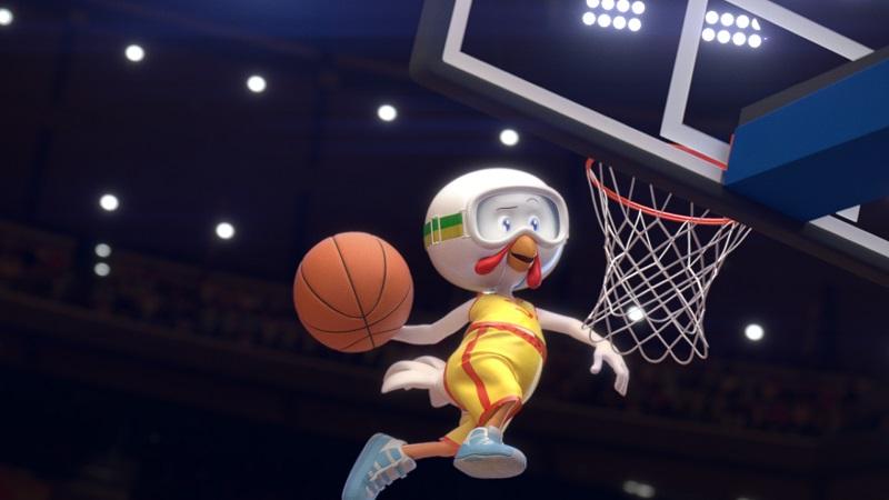 Mascote da Sadia será protagonista na comunicação da marca com a NBA (Foto: Divulgação)