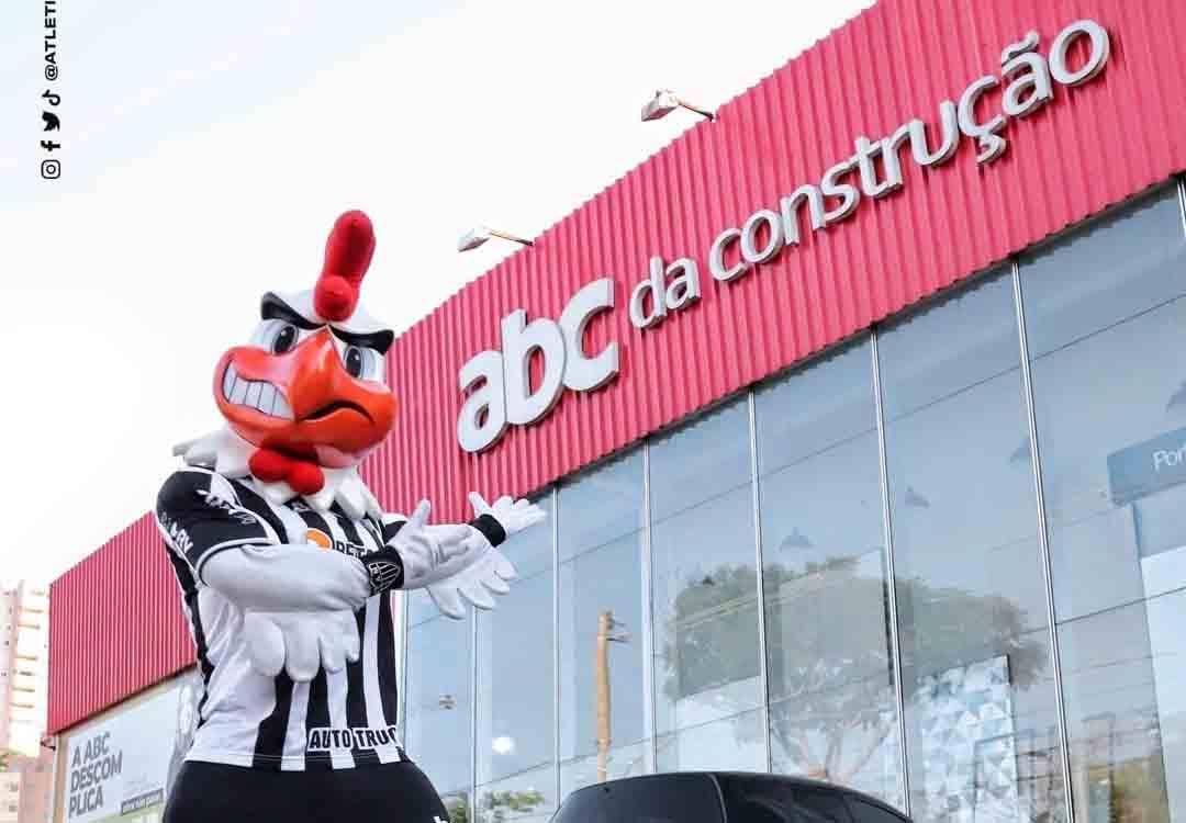 Após Flamengo, ABC da Construção patrocina Atlético-MG