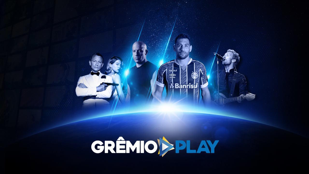 Grêmio Play promete oferta de filmes, séries e, claro, material sobre o clube gaúcho