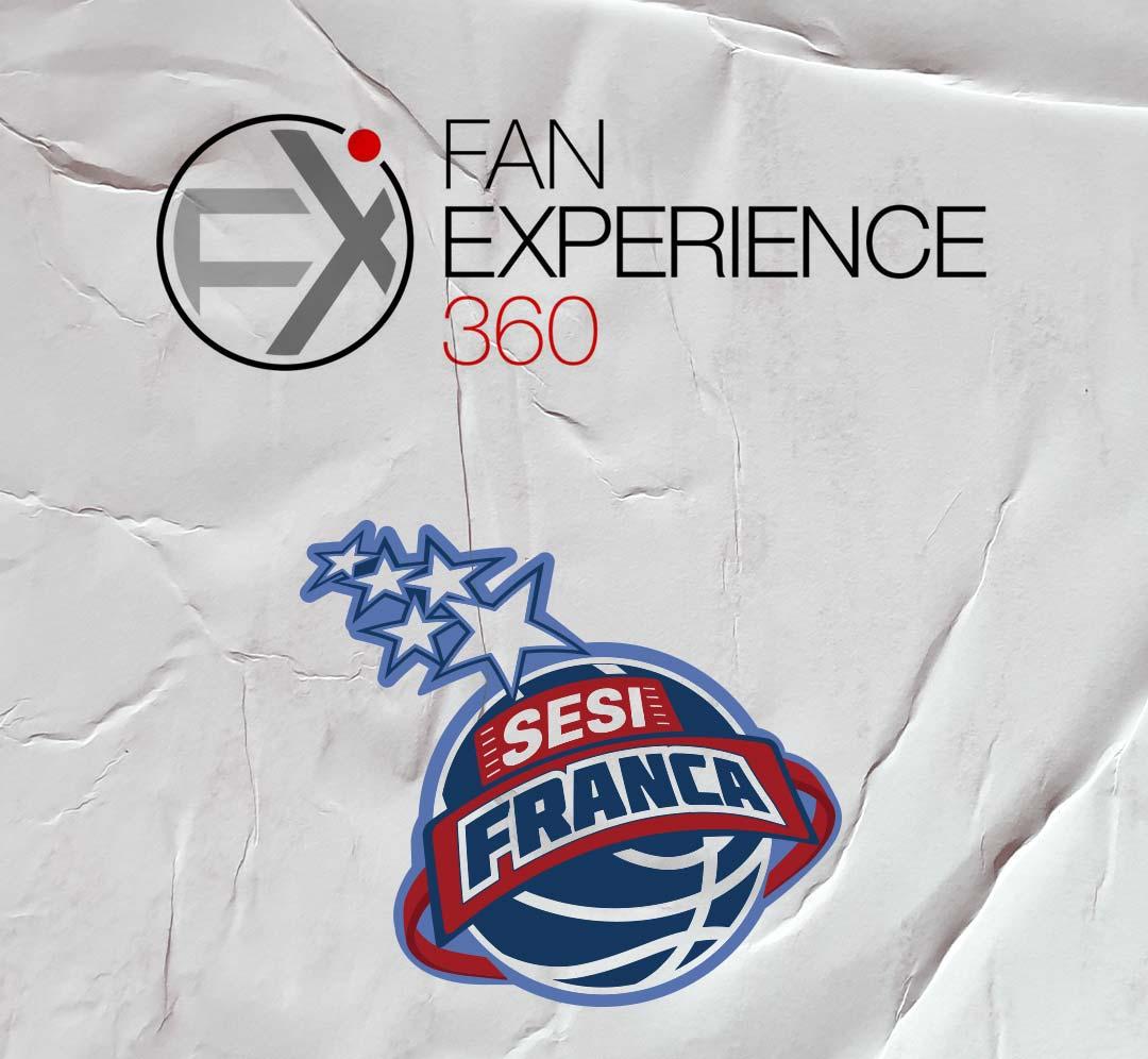 Fan Experience 360 e Sesi Franca vão promover trabalho para conhecer melhor o fã do time de basquete