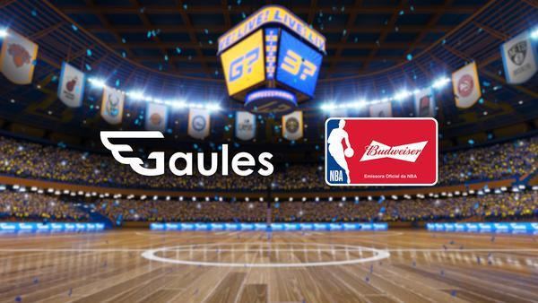 Com streamer Gaules, Bud leva jogo da NBA à Twitch