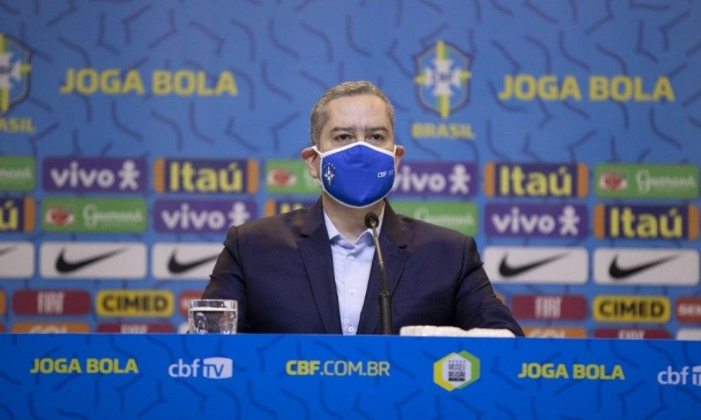 Rogério Caboclo foi afastado da presidência da CBF