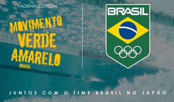 Movimento Verde Amarelo será padrinho do Time Brasil em Tóquio 2020