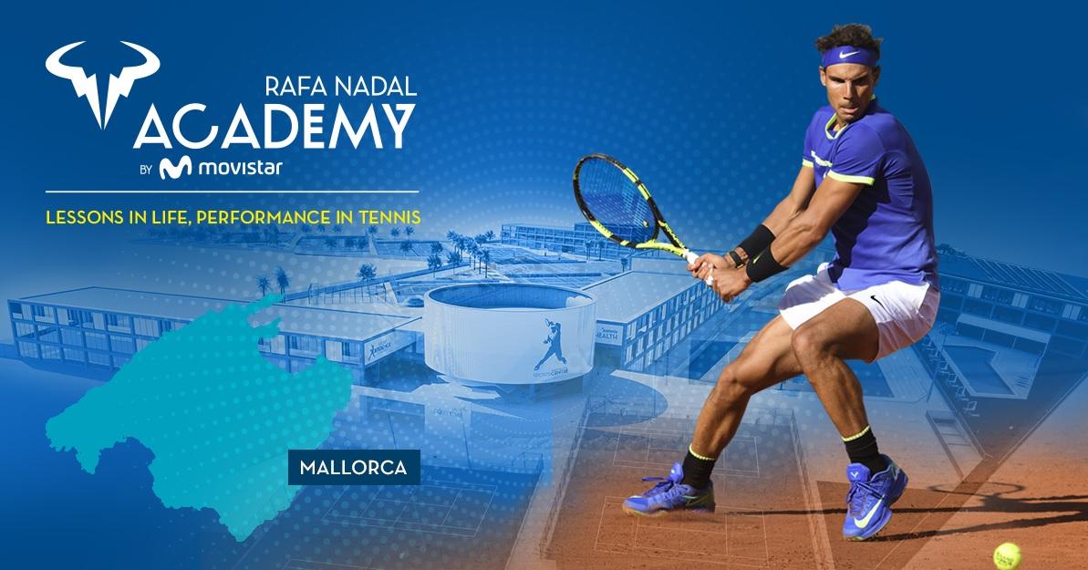 Inaugurada em 2016, a Rafa Nadal Academy é, atualmente, um espaço totalmente dedicado ao tênis de alto desempenho