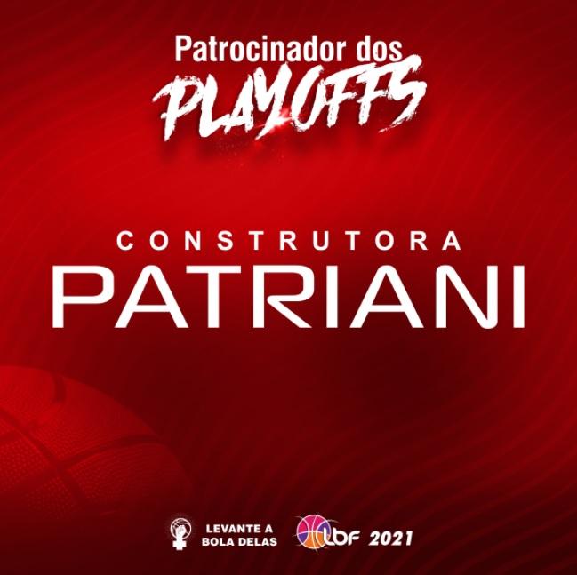 Patriani fecha patrocínio aos playoffs da Liga de Basquete Feminino