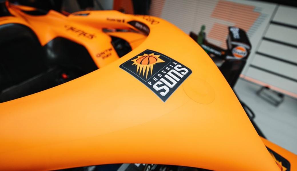 """De olho no mercado americano, McLaren faz """"crossover esportivo"""" com Phoenix Suns"""