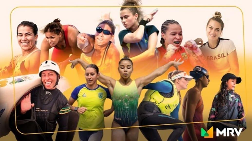 MRV tem time de atletas patrocinadas desde 2020 para aproveitar temática olímpica