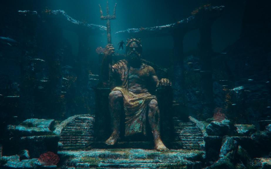 """Gabriel Medina """"acorda"""" Poseidon em nova campanha do Bradesco"""