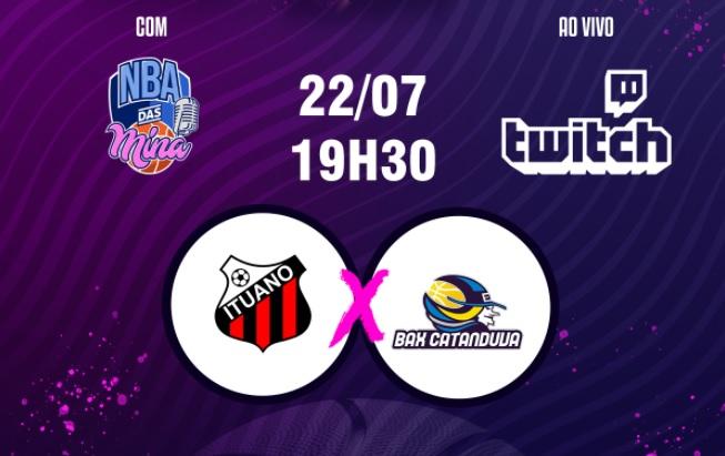 Liga de Basquete Feminino terá jogo dos playoffs transmitido na Twitch