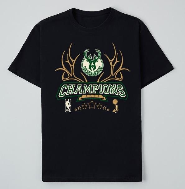 NBA lança camisa comemorativa do campeão Milwaukee Bucks no Brasil