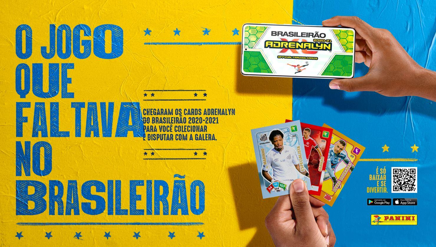 Em ação inédita, Panini lança cards do Brasileirão
