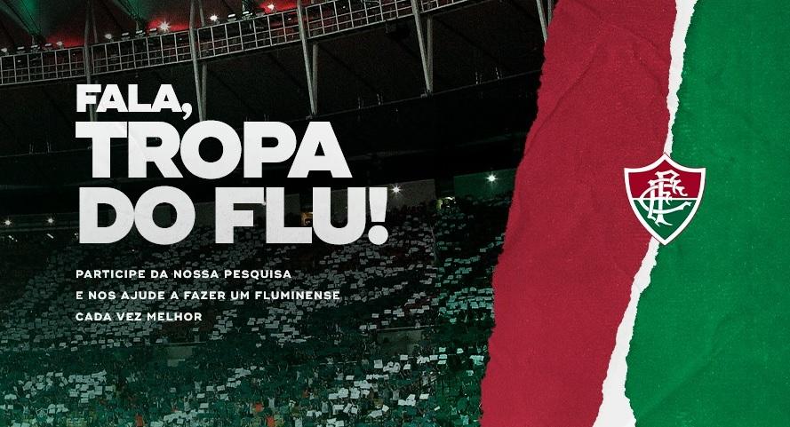 Fluminense realiza pesquisa para melhorar relação com torcedores