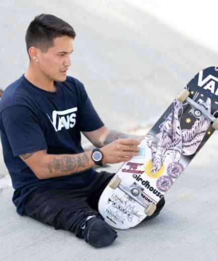Com esporte em alta, Vans anuncia patrocínio ao skatista Felipe Nunes