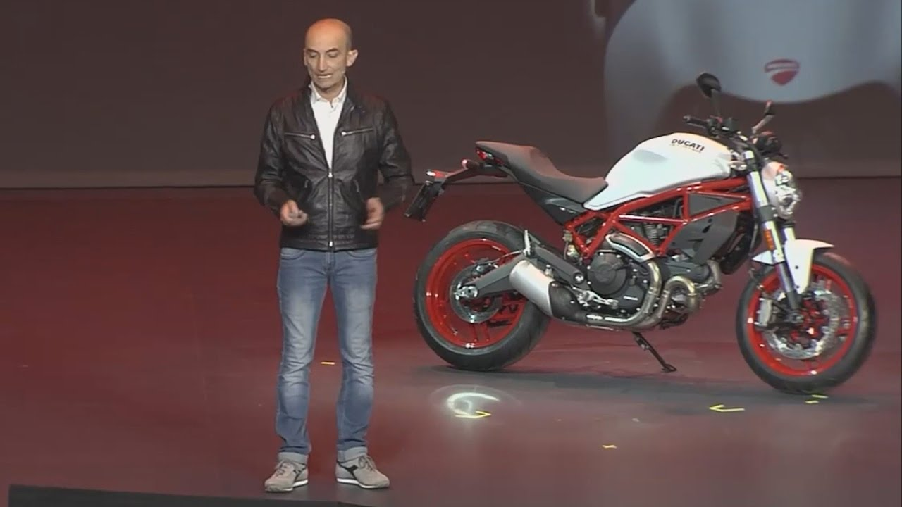 2017 ducati monster 797 - live review - world premiere - eicma 2016