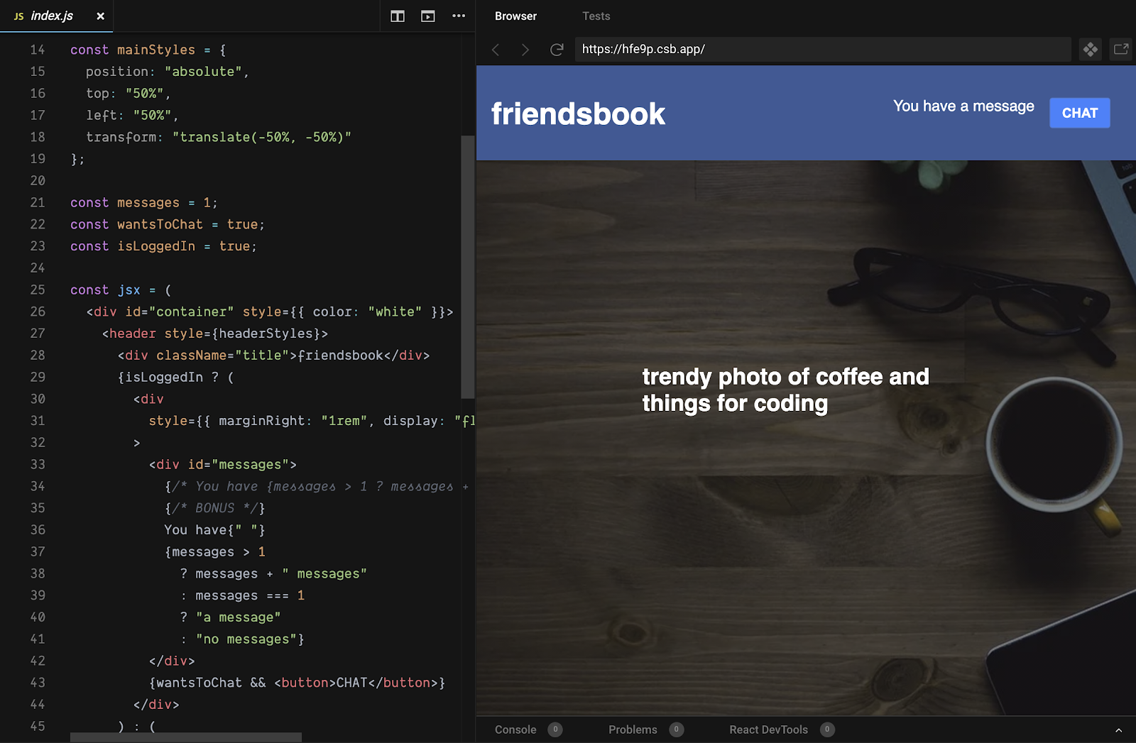 react workshop preview 1