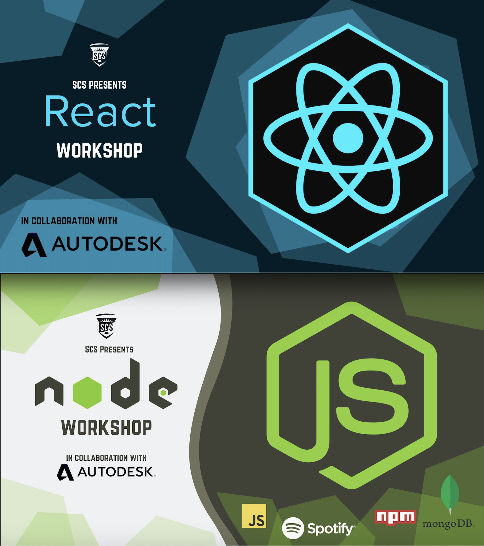 React and Node workshops