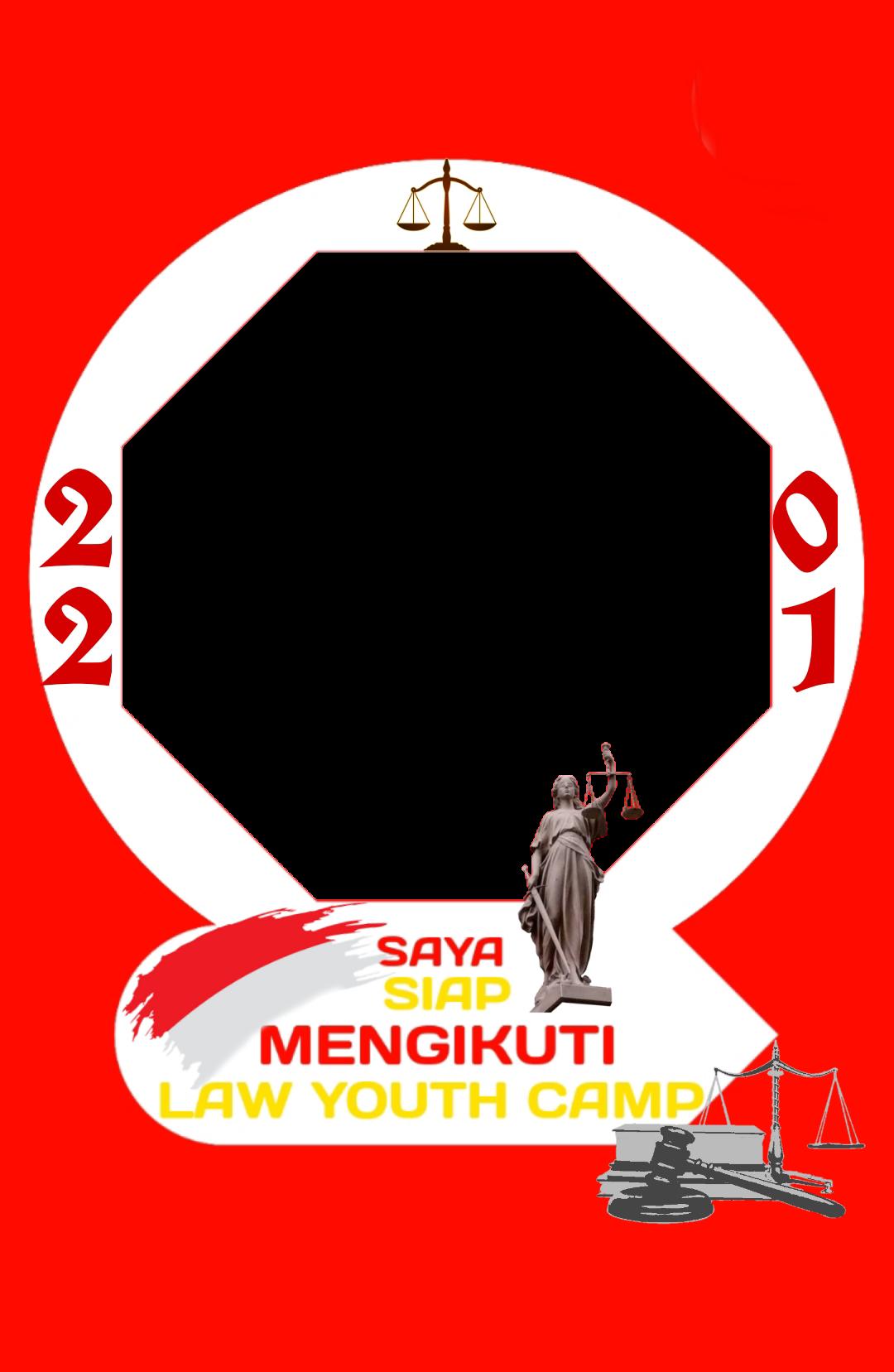 Download Background Twibbon Law Youth Camp buatan Aan Samsu