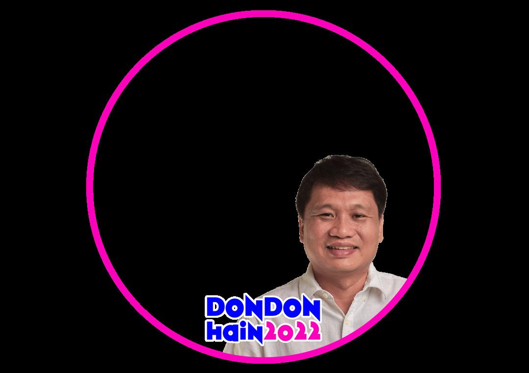 Download Twibbon DondonHain2022 Keren buatan Aljohn Dulay