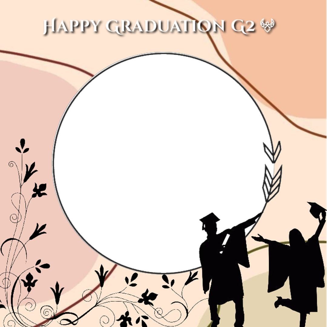 Download Twibbon Graduation Keren buatan denta