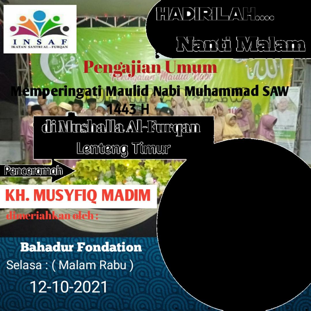 Download Twibbon Alfurqan Keren buatan Yusman Hariyanto