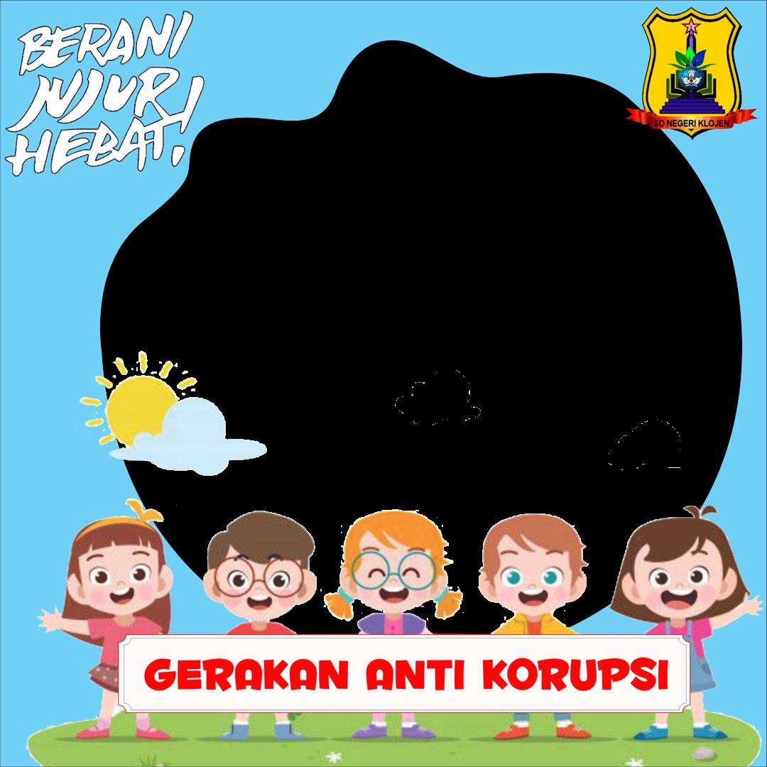Download Twibbon GERAKAN ANTI KORUPSI Terbaru buatan Muhammad Zainul Ikhsan