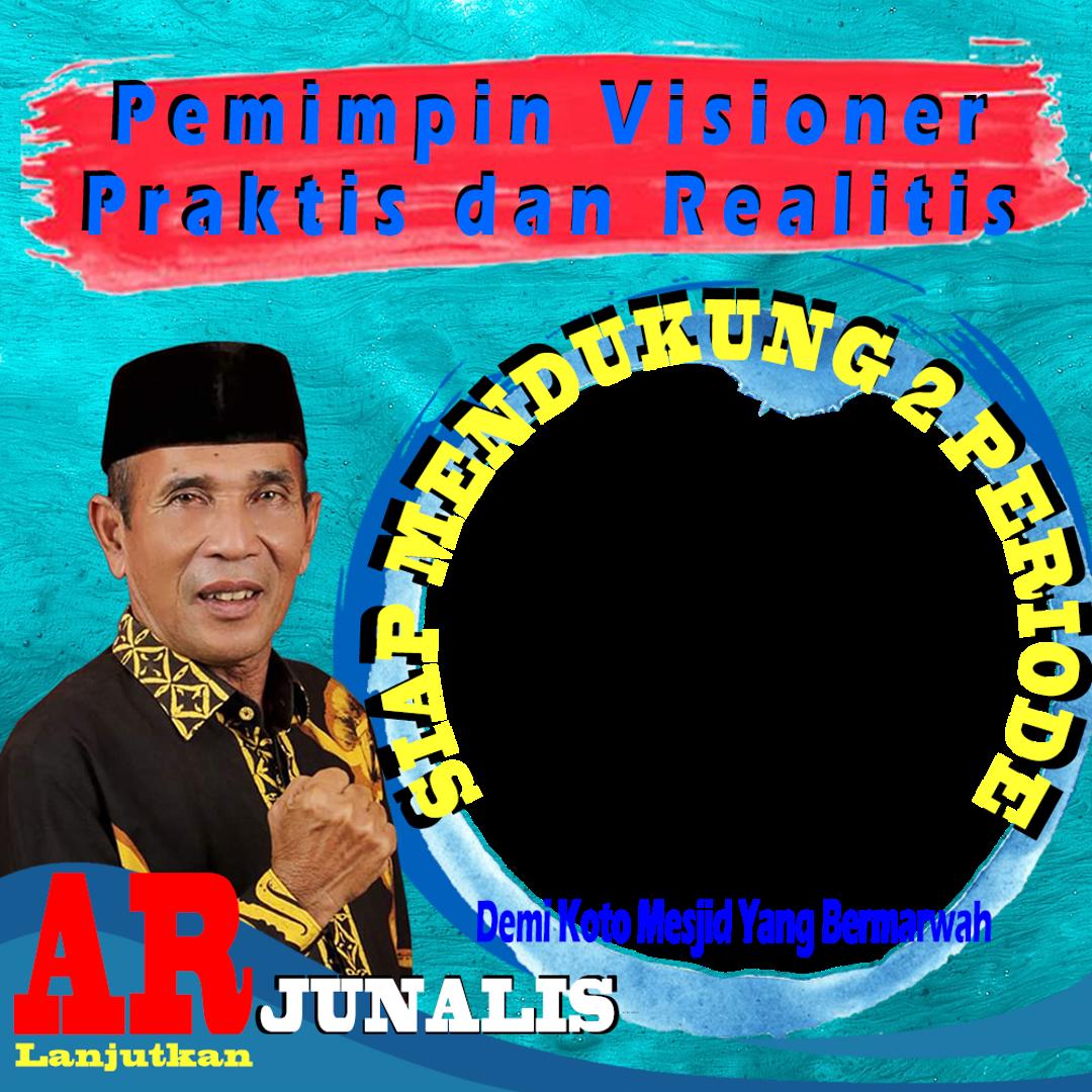 Twibbon Calon Kades 2 Priode Background PNG buatan MIMINAZMI