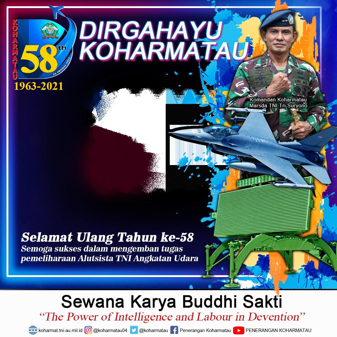 Download Twibbon F-16 & Radar Terbaru buatan I Wayan Joni Nugraha