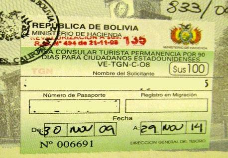 Нужна ли виза в Боливию?