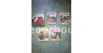 Lot de livre Martine