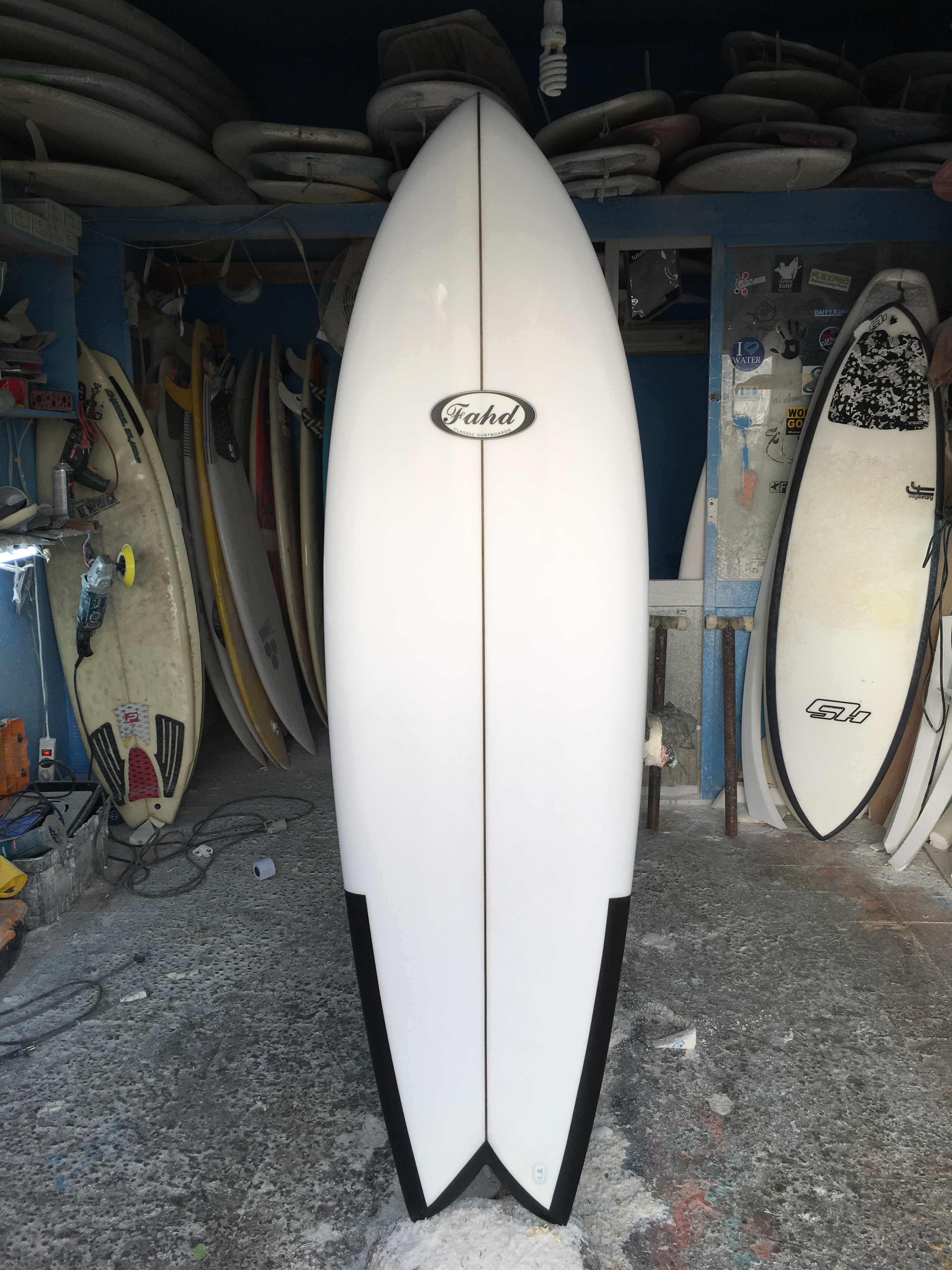 Fahd Handmade Surfboards Just make sure you leave your surfboard in the lockup. fahd handmade surfboards