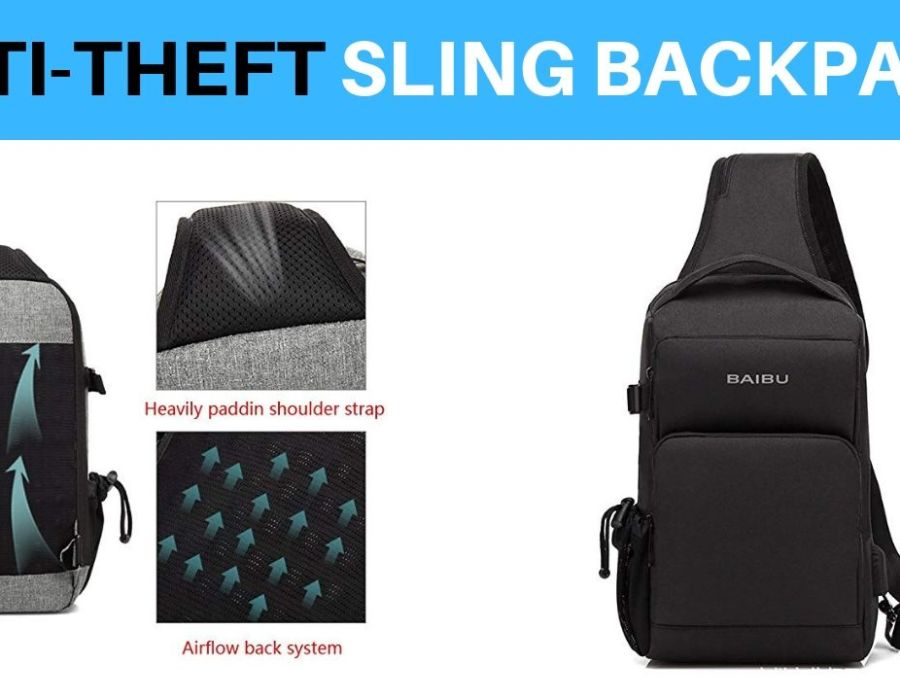 Anti Theft Sling Backpack
