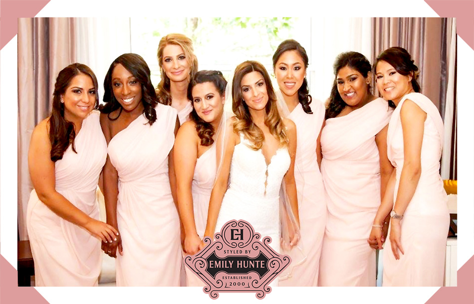 View my mobile bridal and wedding hair styling clients photos - Hair Styled By Emily Hunte