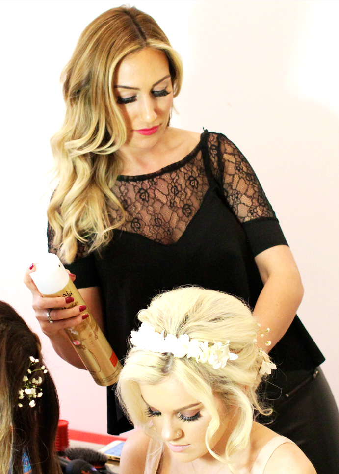 Emily Hunte Mobile Hairdresser London - Established In 2000