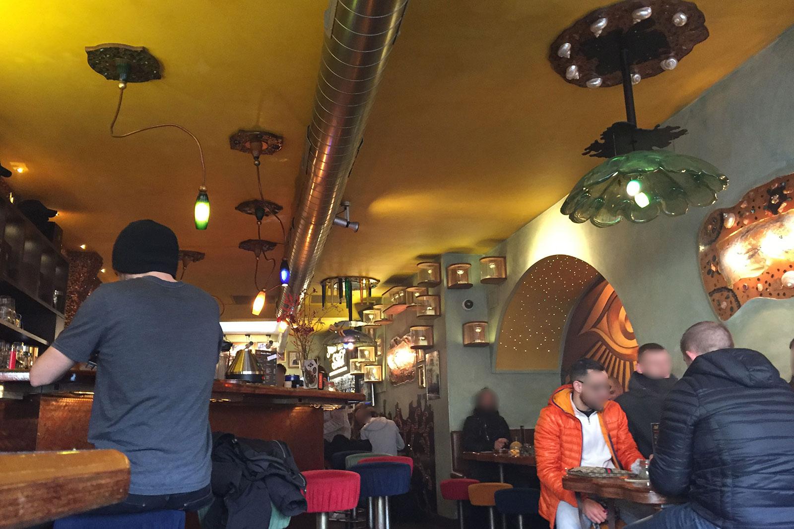 גרין האוס Green House אמסטרדם קופי שופ