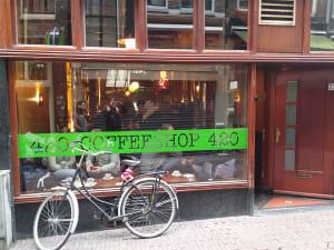 קופי שופס אמסטרדם חשיש