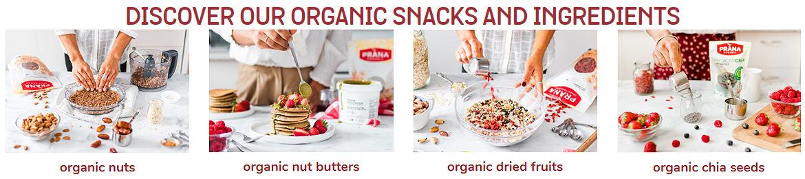 Discover our organic Foods