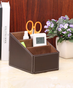 leather desk organizer