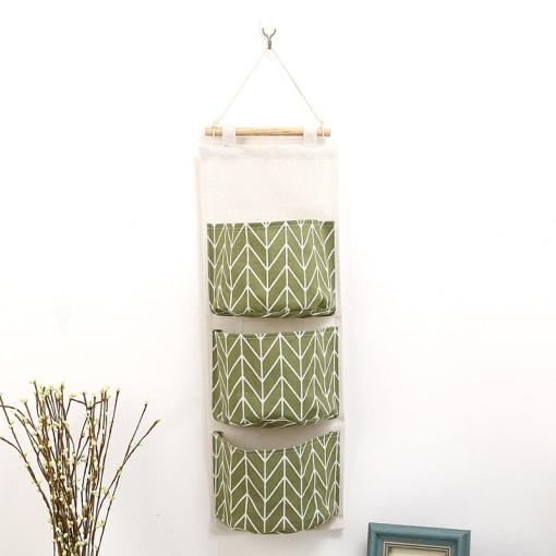 linen hanging organizer