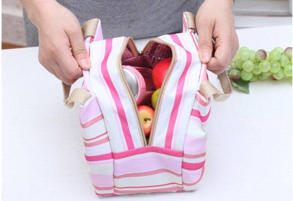 stylish travel lunch bag