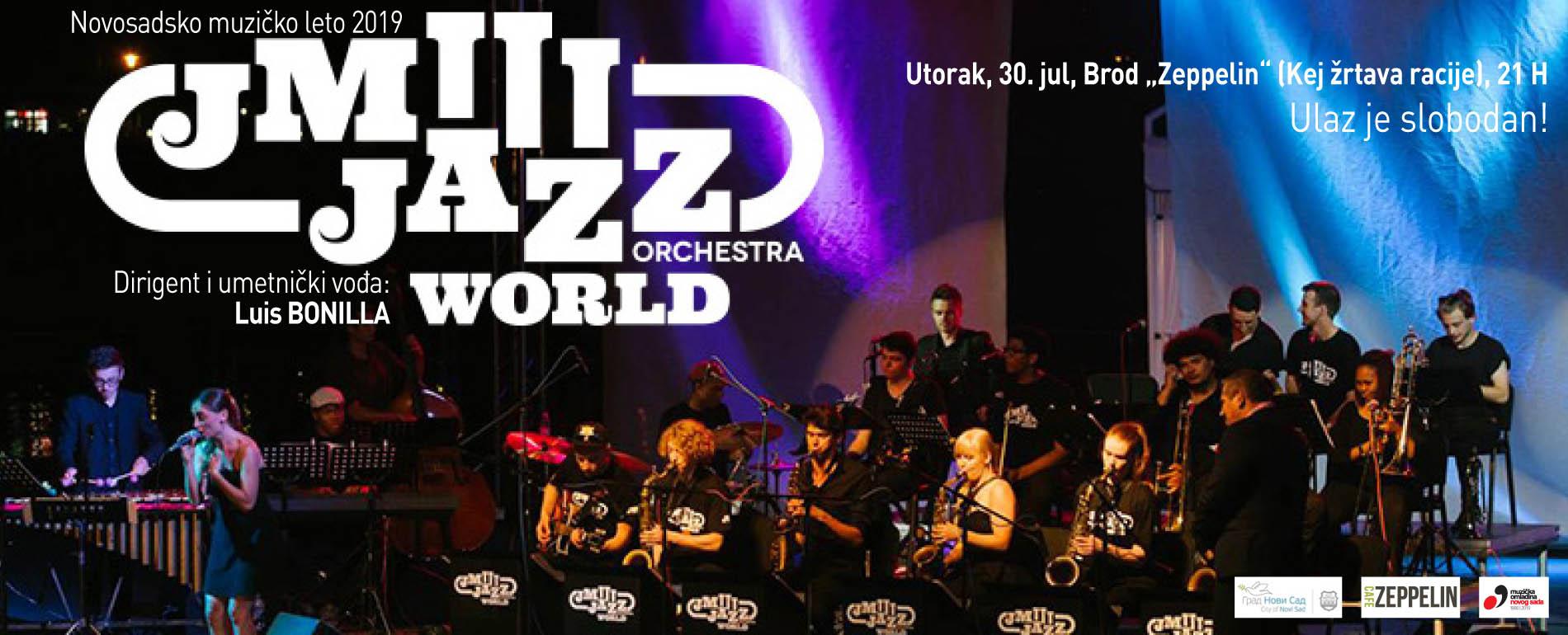 JM JAZZ WORLD ORCHESTRA