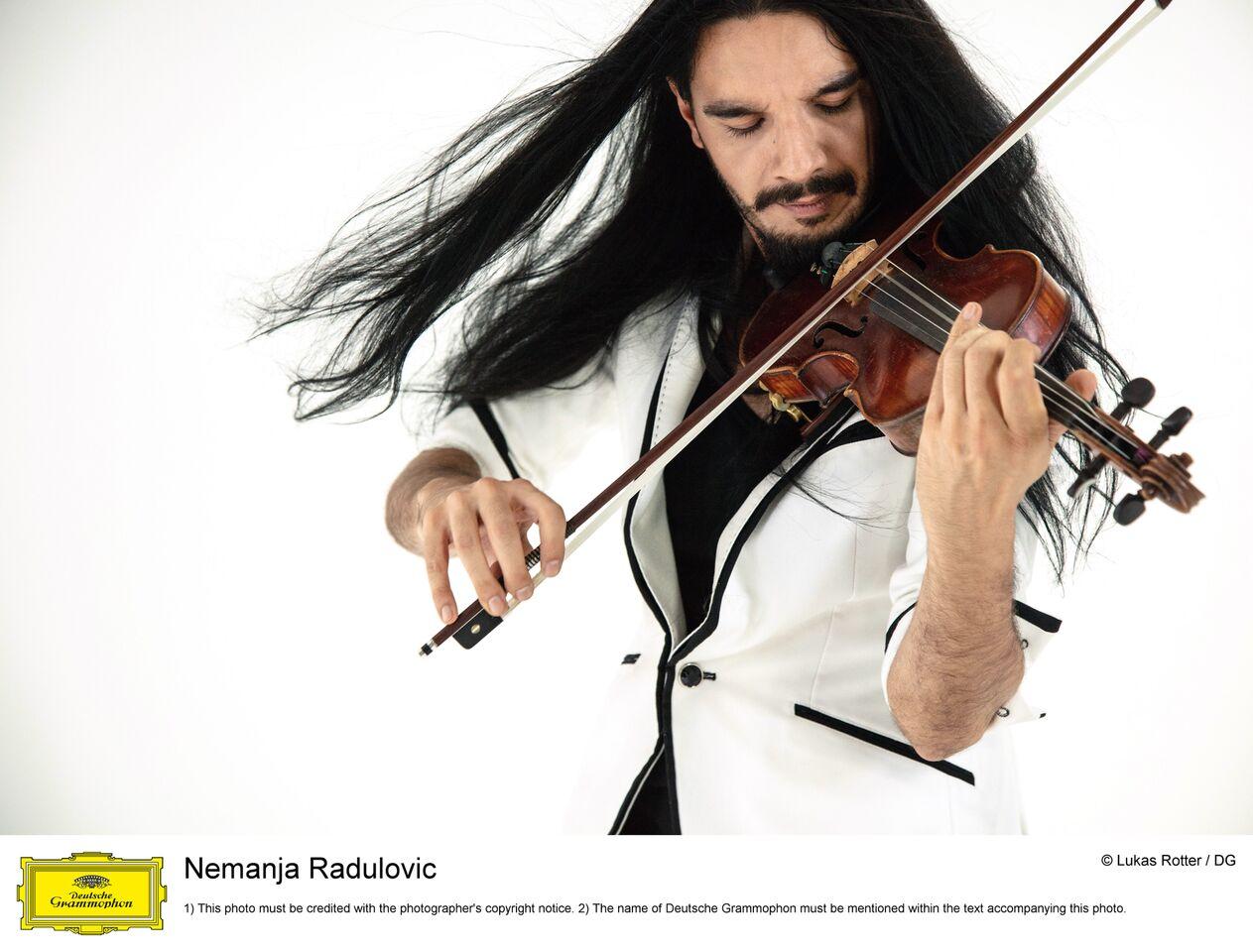 Koncert violiniste NEMANJA RADULOVIĆ sa svojim ansamblom DOUBLE SENS