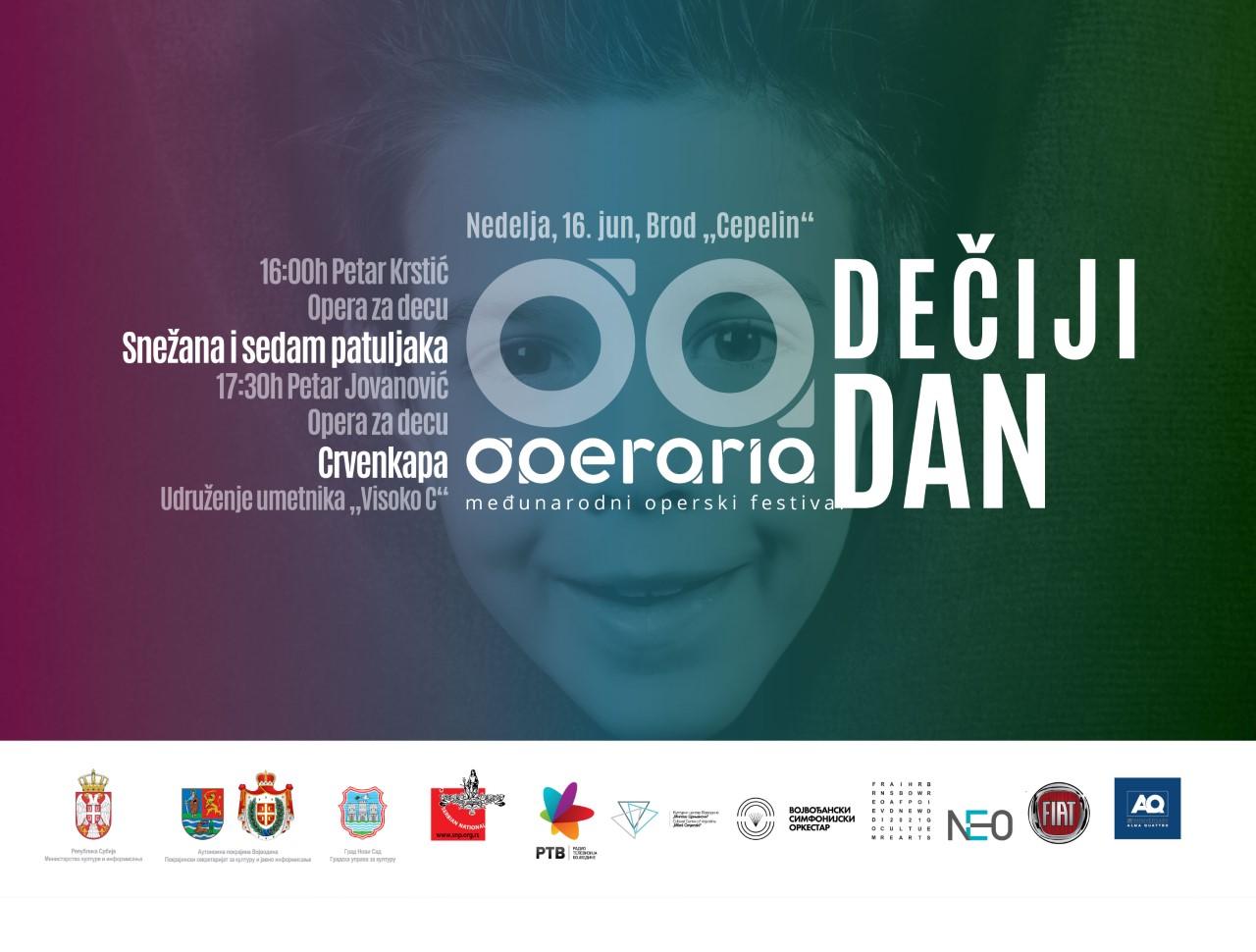 Festival Operaria - Program za decu