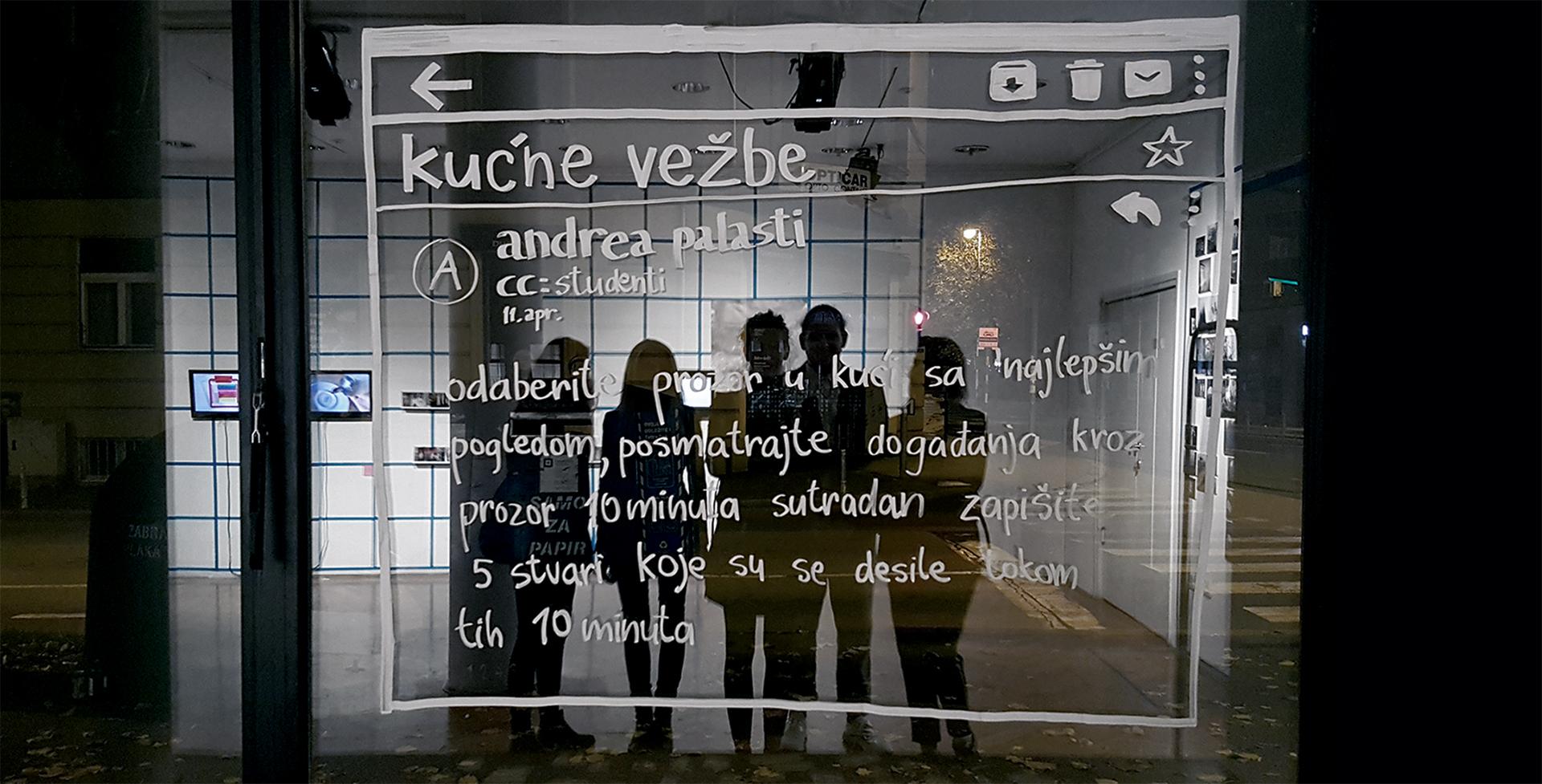 Andrea Palašti / Кućne vežbe