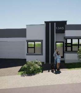 2 Bedroom House New Development