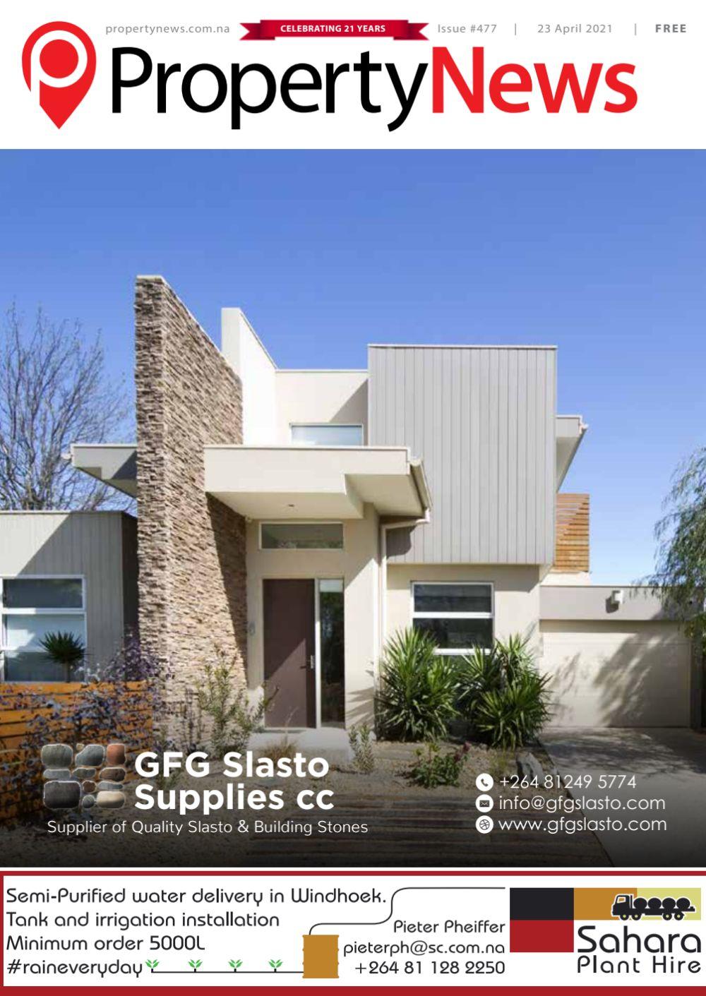 Property News Namibia Magazine Issue 477 - 23 Apr 2021