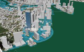 Estrategia para mares en ascenso en Miami Beach