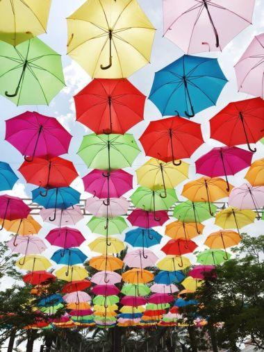 "Conozca el imperdible ""Umbrella Sky Project"" de Coral Gables"