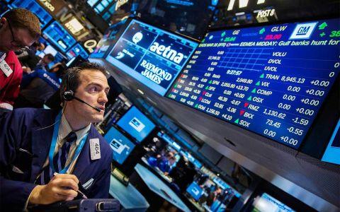 El Dow Jones sufre una caída acumulada de 5%