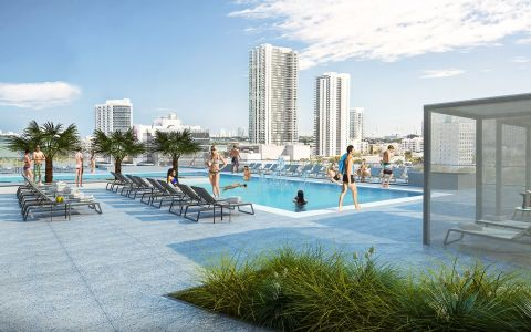 Magellan Development Group obtiene préstamo para Midtown Five